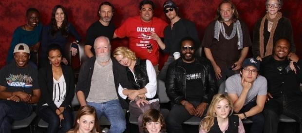 'The Walking Dead' cast dedicates sweet video to fans to celebrate 100th episode. (Wikimedia/Casey Florig)