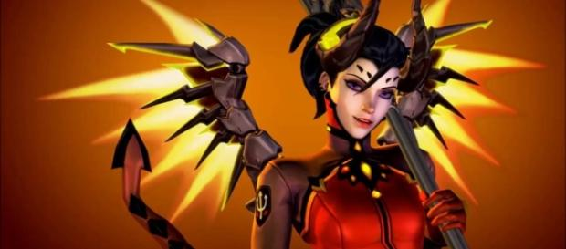 There's an 'Overwatch' theory delving into Mercy's questionable medical practices. (image source: YouTube/ScarHydreigon87)