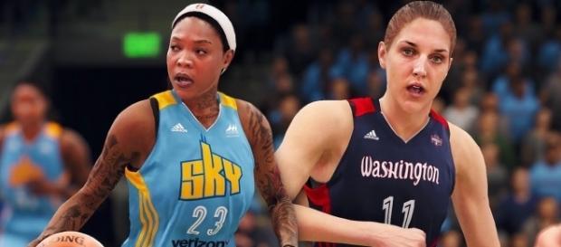 WNBA teams on 'NBA Live 18' opens more possibilities for EA's sporting title (ThatKiddKuda/YouTube Screenshot)