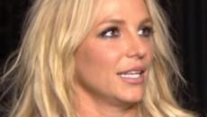 Britney Spears shows her face without make-up