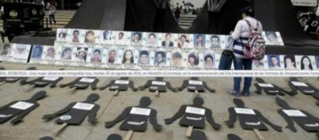 Día Internacional de las Víctimas de Desapariciones Forzadas.