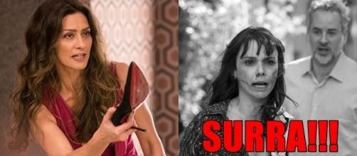 'A Força do Querer': Irene apanha e é presa por roubo de joias de Elvira