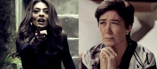 """""""A Força do Querer"""": Silvana rouba joias de Bibi e coloca a própria vida em risco"""