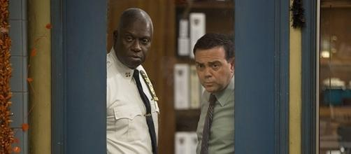 "Andre Braugher and Joe Lo Truglio play Capt. Ray Holt and Det. Charles Boyle in the FOX comedy, ""Brooklyn Nine-Nine."" (SpoilerTV/FOX)"