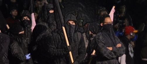Antifa terrorists (SS&SS Flickr)