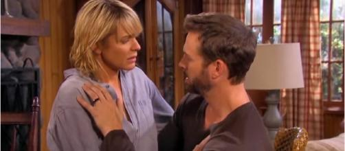 'Days of Our Lives' Brady and Nicole. (Image via YouTube screengrab/NBC)