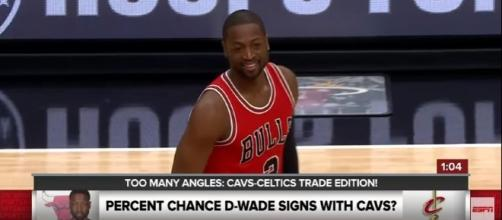 Dwayne Wade meeting LeBron James for dinner, says it means nothing - Photo; YouTube (ESPN)