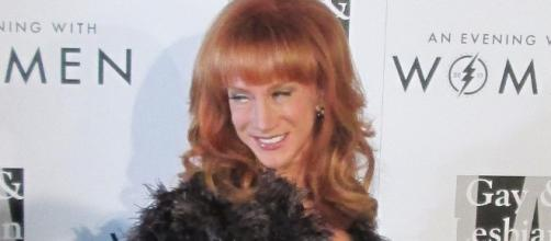 Kathy Griffin talked about the consequences of her controversial photo of the president. (Flickr/Greg Hernandez)