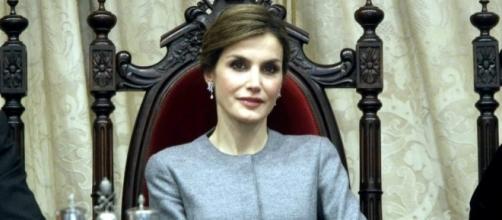 La reina Letizia en un acto oficial