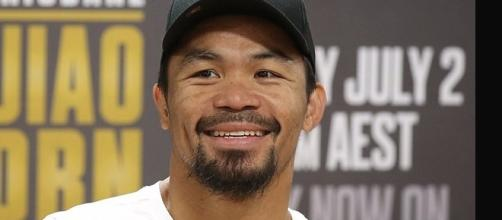 Manny Pacquao/ photo by @businessinsider via Twitter