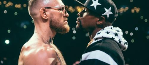 Mayweather vs McGregor [Image via YouTube/King Max Productions]
