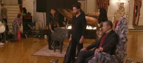 "More spoilers revealed through the photoshoot video of ""Empire"" season 4 - via YouTube/Empire"