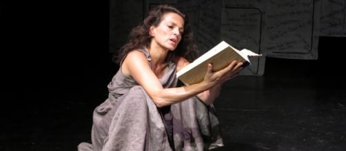 "Nicole Ansari in ""I Am Antigone"". / Photo via Wai Wing Lau, used with permission."