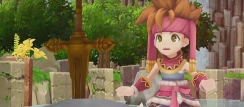 Nintendo's Secrets of Mana revamped for the Playstation 4 system | Screenshot via YouTube