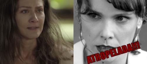 Socialite descobre que Irene está grávida e decide atropelar ex-amante de Eugênio