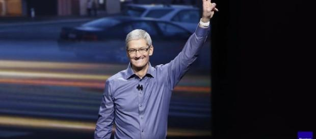 Apple's CEO Tim Cook received $89.2 million worth of annual shares - YouTube/Bloomberg
