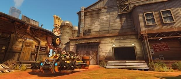 Blizzard has now released the Junkertown map to the PTR. (Blizzard)