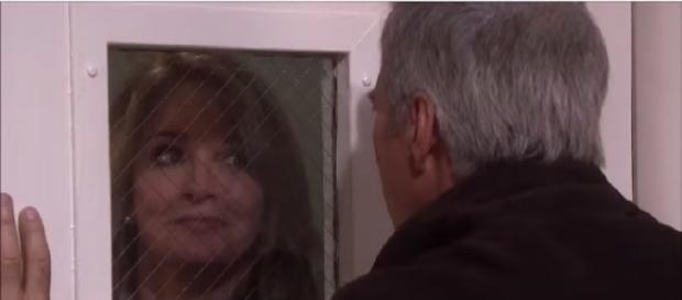 'Days of our Lives' John and Marlena. (Image via YouTube screengrab/NBC)