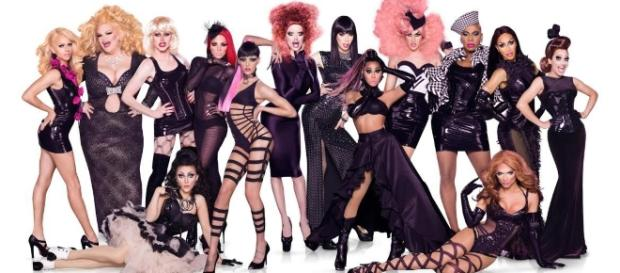 "Drag queens de ""RuPaul's Drag Race"""
