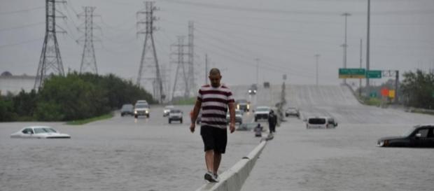 La tempête Harvey bat des records