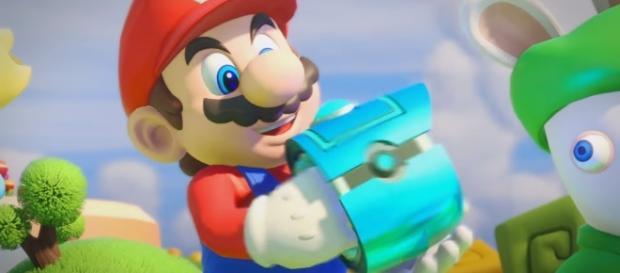 'Mario + Rabbids' (image source: YouTube/MKIceAndFire)