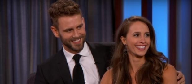 Nick Viall speaks up about his breakup from Vanessa Grimaldi. (YouTube/Jimmy Kimmel Live)