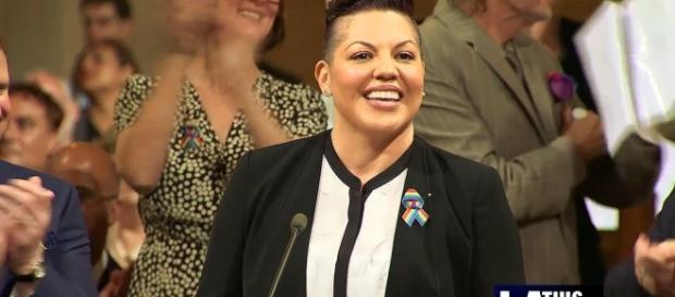 Sara Ramirez (Image Credit - CalzonaMD/YouTube Screenshot)