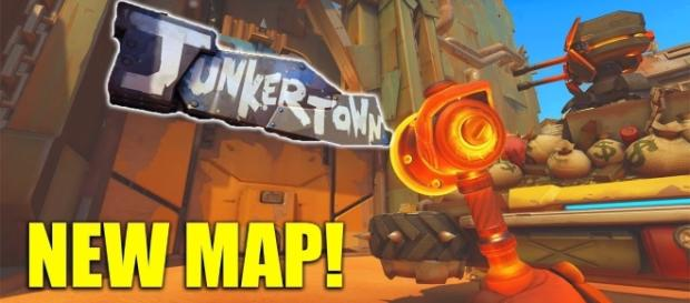 The new 'Overwatch' map. (image source: YouTube/Muselk)