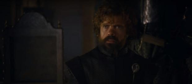 Tyrion and Cersei in the 'Game of Thrones' season 7 finale. - photo via Kristina R/YouTube