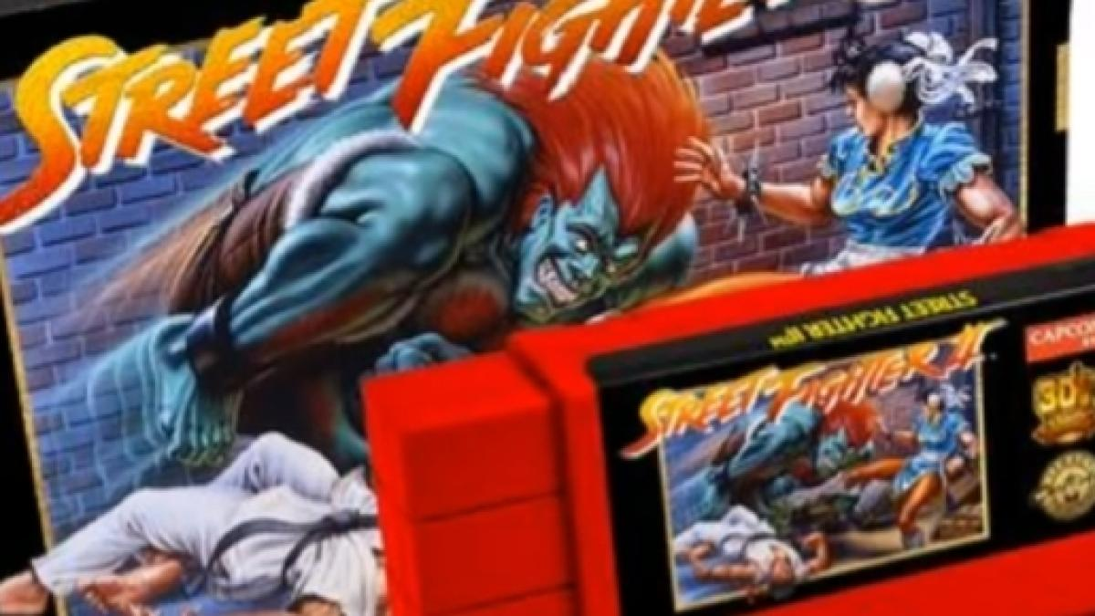 Street Fighter Ii To Be Re Released For The Snes