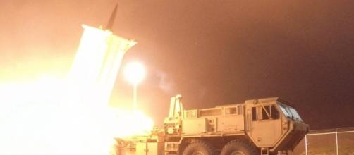 A THAAD US missile interceptor that was tested successfully. (Image by US Pacific Command)