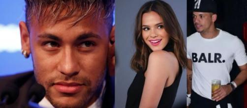 Bruna Marquezine volta a seguir quatro amigos de Neymar