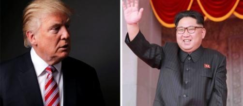 Donald Trump e il dittatore nordcoreano Kim