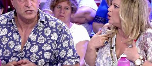 El mosqueo de Terelu Campos con Kiko Matamoros por un comentario ... - telecinco.es