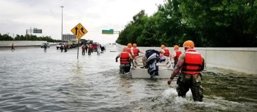 Hurricane Harvey devastates Houston, Photo from https://www.defense.gov/News/Special-Reports/0817_hurricane-harvey/