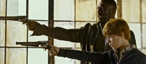 Idris Elba and Tom Taylor bring Roland and Jake alive in the Stephen King adaptation - YouTube/Sony Pictures Entertainment channel (screenshot)