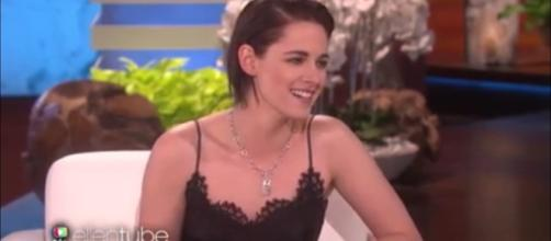 Kristen Steward strips naked for Chanel perfume ad: Image - TheEllenShow | YouTube