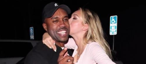 "It's all good between DeMario Jackson and Corinne Olympios following their ""Bachelor in Paradise"" scandal. (YouTube/Splash News TV)"