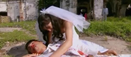 Josefina chora a morte de Adolfo