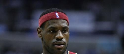 LeBron does not care if they move. Keith Allison via Wikimedia Commons
