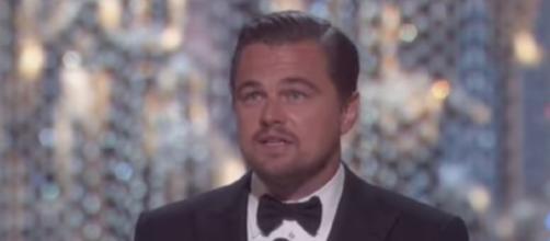 Leonardo DiCaprio donated $1 million to the Hurricane Harvey victims. YouTube/ET