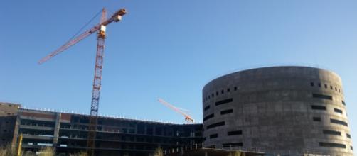 Nuevo Hospital de Toledo, vista frontal