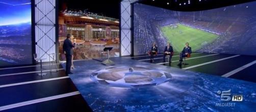 Palinsesto di Canale 5 per la Champions League