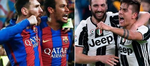 Barcellona-Juventus: i catalani proveranno a vendicare l'eliminazione dell'anno scorso.