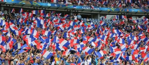 Supporters français au match d'ouverture de l'Euro 2016, France ... - purepeople.com