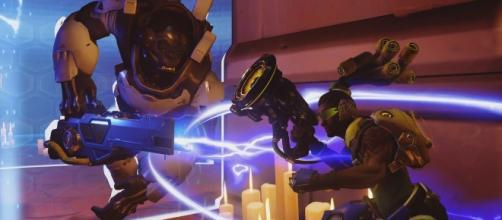 Survive the 'Overwatch' Deathmatch mode. (image source: YouTube/IGN)