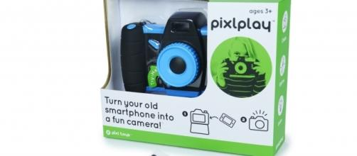 The Pixlplay Camera promotes recycling and creativity. / Photo via JP Stoops, used with permission.