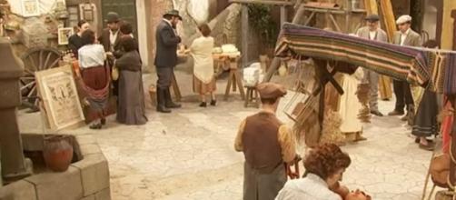 Una scena della soap 'Il Segreto'