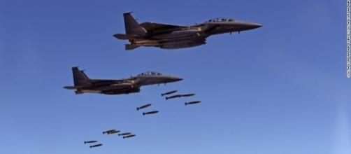 U.S. and South Korean fighter jets stage mock bombing drills near the Northern border (Photo: South Korea Air Force)