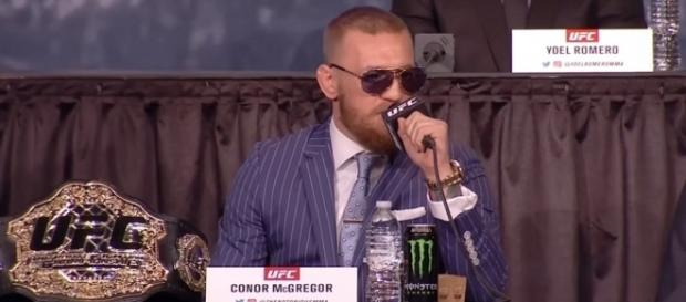 Conor McGregor has a request if he rematches Nate Diaz -- UFC ON FOX via YouTube
